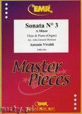Okładka: Vivaldi Antonio, Sonata N° 3 in A minor - Flute
