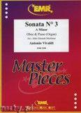 Okładka: Vivaldi Antonio, Sonata N° 3 in A minor - Oboe