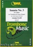 Okładka: Vivaldi Antonio, Sonata N° 3 in A minor - Trombone