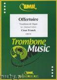 Okładka: Franck César, Offertoire  - Trombone