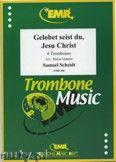 Okładka: Scheidt Samuel, Gelobet seist du, Jesu Christ - Trombone