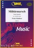 Okładka: Schubert Franz, Militärmarsch for Tuba Quartet