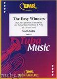 Okładka: Joplin Scott, The Easy Winners for Euphonium or Trombone and Tuba or Bass Trombone and Piano