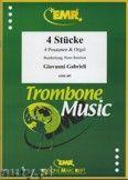 Okładka: Gabrieli Giovanni, 4 Stücke  - Trombone
