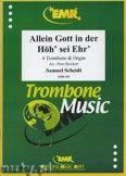 Okładka: Scheidt Samuel, Allein Gott in der Höh'sei Ehr' - Trombone