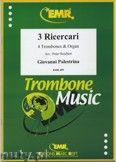 Okładka: Palestrina Giovanni Pierluigi Da, 3 Ricercari - Trombone