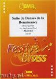 Okładka: Anonim, Suite de Danses de la Renaissance - BRASS ENSAMBLE