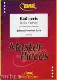 Okładka: Bach Johann Sebastian, Badinerie - Horn