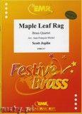 Okładka: Joplin Scott, Maple Leaf Rag  - BRASS ENSAMBLE