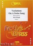 Okładka: Brogli Kurt, Variations on a Swiss Song - BRASS ENSAMBLE