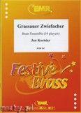 Okładka: Koetsier Jan, Grassauer Zwiefacher for Brass Ensemble (10 Players)