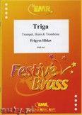 Okładka: Hidas Frigyes, Triga - BRASS ENSAMBLE