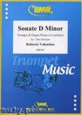 Okładka: Valentino Roberto, Sonate in d-moll  - Trumpet