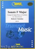 Okładka: Valentino Roberto, Sonate in F-Dur  - Trumpet