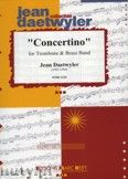 Okładka: Daetwyler Jean, Concertino (Trombone Solo) - BRASS BAND