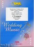 Okładka: , Utwory na 2 trąbki i fortepian (BACH: Aria, CLARKE: Trumpet Voluntary, MENDELSSOHN: Wedding March, PURCELL: Trumpet Tune, WAGNER: Bridal Chorus) - Trumpet