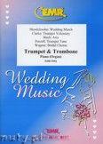 Okładka: , Utwory na trąbkę(cornet), puzon i fortepian (BACH: Aria, CLARKE: Trumpet Voluntary, MENDELSSOHN: Wedding March, PURCELL: Trumpet Tune, WAGNER: Bridal Chorus) - BRASS ENSAMBLE