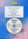 Okładka: , Utwory na 2 flety i CD (BACH: Aria, CLARKE: Trumpet Voluntary, MENDELSSOHN: Wedding March, PURCELL: Trumpet Tune, WAGNER: Bridal Chorus) - Flute