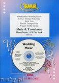 Okładka: Różni, Utwory na uroczystości zaślubin na flet, puzon i fortepian (+ CD)