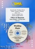 Okładka: Różni, Utwory na uroczystości zaślubin na obój, fagot i fortepian (+ CD)
