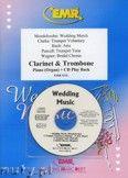 Okładka: Różni, Utwory na uroczystości zaślubin na klarnet, puzon i fortepian (+ CD)