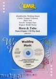 Okładka: Różni, Utwory na uroczystości zaślubin na róg, tubę i fortepian (+ CD)