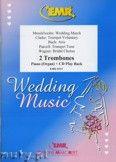 Okładka: , Utwory na 2 puzony i CD (BACH: Aria, CLARKE: Trumpet Voluntary, MENDELSSOHN: Wedding March, PURCELL: Trumpet Tune, WAGNER: Bridal Chorus) - Trombone