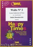 Okładka: Szostakowicz Dymitr, Waltz N° 2 for Cornet, Euphonium and Piano