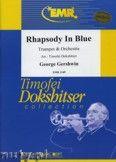 Okładka: Gershwin George, Rhapsody in Blue for Trumpet - Orchestra & Strings