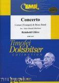Okładka: Gliere Reinhold, Concerto For Cornet (Trumpet) - (Cornet Solo) - BRASS BAND