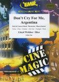 Okładka: Webber Andrew Lloyd, Don't cry for me, Argentina