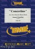 Okładka: Gourlay James, Concertino (Eb Horn Solo) - BRASS BAND