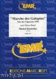 Okładka: Hostettler Michel, Marche des Galopins - BRASS BAND