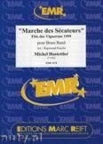 Okładka: Hostettler Michel, Marche des Sécateurs - BRASS BAND