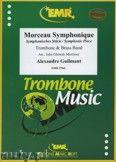 Okładka: Guilmant Alexandre, Morceau Symphonique (Trombone Solo) - BRASS BAND