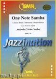 Okładka: Jobim Antonio Carlos, One Note Samba - Wind Band