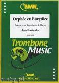Okładka: Daetwyler Jean, Orpheus and Eurydice for Trombone and Harp