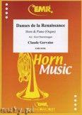 Okładka: Gervaise Claude, Danses de la Renaissance - Horn