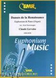 Okładka: Gervaise Claude, Danses de la Renaissance - Euphonium