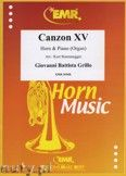 Okładka: Grillo Giovanni Battista, Canzon XV - Horn