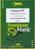Okładka: Grillo Giovanni Battista, Canzon XV - Trombone