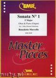Okładka: Marcello Benedetto, Sonata N° 1 in F major - Oboe