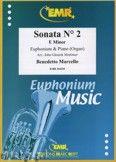 Okładka: Marcello Benedetto, Sonata N° 2 in E minor - Euphonium