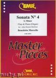 Okładka: Marcello Benedetto, Sonata N° 4 in G minor - Flute
