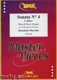 Okładka: Marcello Benedetto, Sonata N° 4 in G minor - Oboe