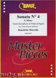 Okładka: Marcello Benedetto, Sonata N° 4 in G minor - Saxophone