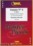 Okładka: Marcello Benedetto, Sonata N° 4 in G minor - Trumpet