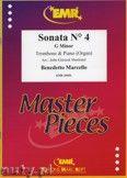 Okładka: Marcello Benedetto, Sonata N° 4 in G minor - Trombone