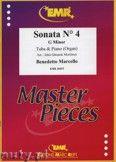 Okładka: Marcello Benedetto, Sonata N° 4 in G minor - Tuba