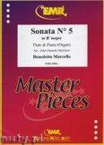 Okładka: Marcello Benedetto, Sonata N° 5 in Bb major - Flute